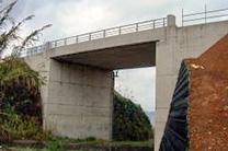 県単道路整備(交付金)工事(スラブ橋げた)